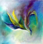 Kunstbild: Seelenflug, Oel auf Leinwand