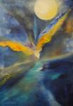 Kunstbild: Freiheit, Oel auf Leinwand