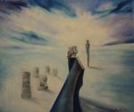 Kunstbild: Vision II, Oel auf Leinwand