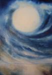 Kunstbild: Zwischen Himmel und Erde, Oel auf Leinwand