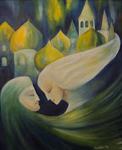 Kunstbild: Russische Seele, Oel auf Leinwand